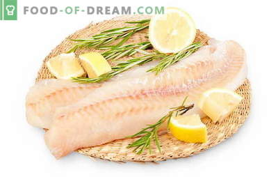 Comment cuire un filet de goberge pour rendre le poisson juteux. Comment faire cuire un filet de goberge dans une casserole, un four, un multicuiseur