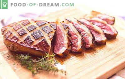 Filetto d'anatra: non ci sono molte ricette. Diversi modi di cucinare filetto d'anatra: ricette per la stufa, forno, multicooker