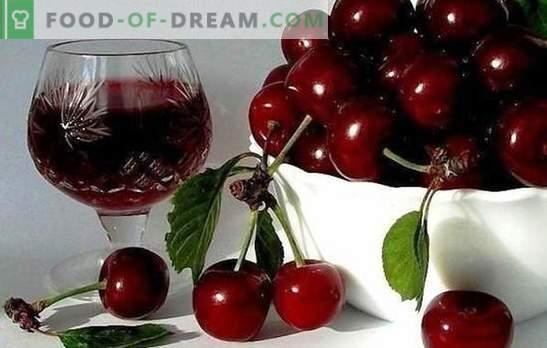 Technologie du vin de cerise à la maison. Recettes de marques populaires: vin de cerise inhabituel à la maison