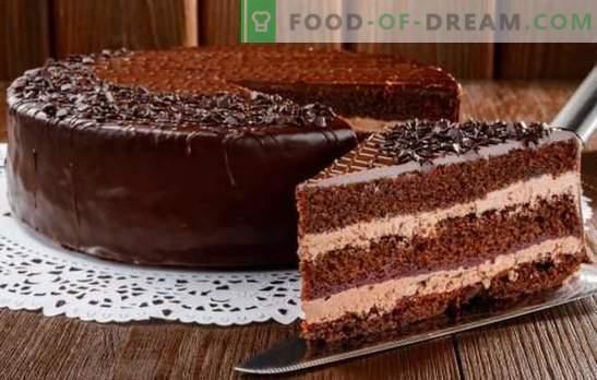 Splendida torta di Praga: ricette con foto, preparazione passo passo. Una selezione di ricette delle migliori torte di Praga con foto