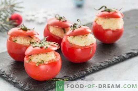 Cosa può essere cotto velocemente dai pomodori? Offriamo ottimi spuntini, primi e secondi piatti in una fretta di pomodori