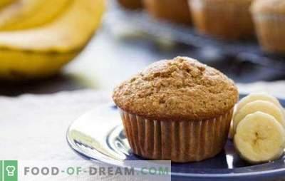 Muffins con banana - una delicata delicatezza. Segreti e ricette di deliziosi muffin alla banana: cioccolato, ricotta, noci