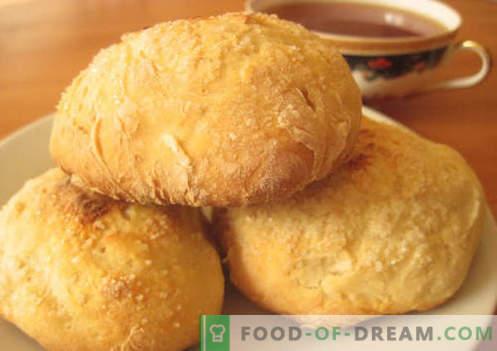 Muffins su kefir - le migliori ricette. Come cucinare correttamente e gustosi panini allo yogurt