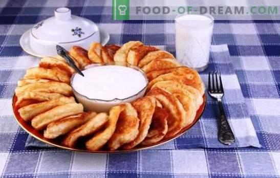Frittelle sul latte - le migliori ricette e consigli. Come cucinare deliziose e soffici frittelle con latte