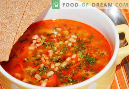 Pickle sottaceto: le migliori ricette. Come cucinare correttamente e gustoso sottaceto con orzo.