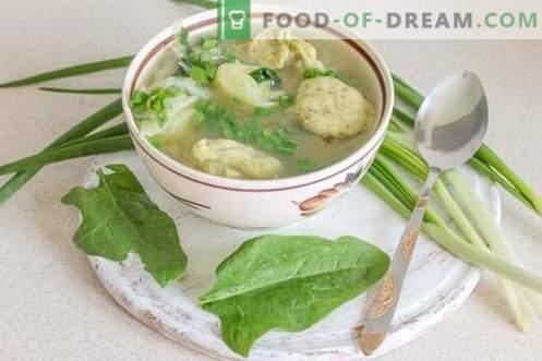 Zuppa di verdure con gnocchi - soddisfacenti e salutari!