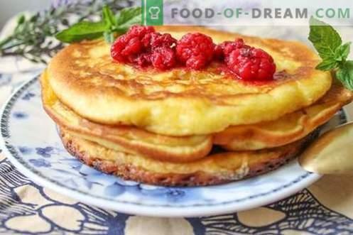 Pancakes americani - gustosi, soddisfacenti e molto economici!