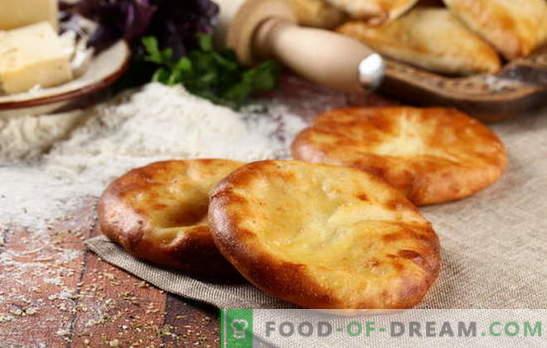 Khachapuri su kefir in forno e in padella. Come cucinare khachapuri con formaggio su kefir: opzioni per farciture