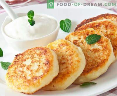 Cheesecake di ricotta - classico, con semolino, lussureggiante, nel forno - le migliori ricette. Come cucinarli