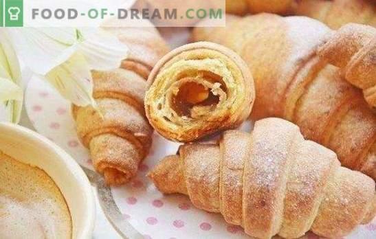 Bagel con marmellata - il gusto dell'infanzia! Ricette semplici e originali per bagel con marmellata di pasta frolla, lievito e pasta di cagliata