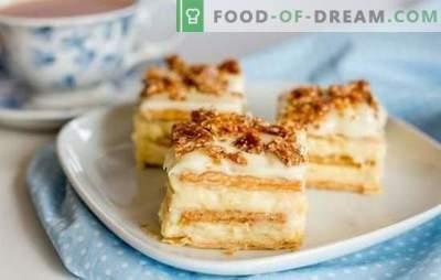 Come realizzare una torta originale dai cracker senza cottura. Deliziose torte da cracker senza cottura: ricette facili e veloci