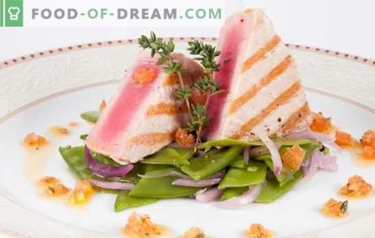 Bistecca di tonno - sana, gustosa, appetitosa. Ricette per bistecca di tonno con erbe, limone, formaggio, funghi e altro