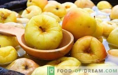Mele inzuppate in casa - la fortificazione è iniziata! Le migliori ricette per mele tostate a casa in botti e lattine