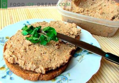 Patè di carne - le migliori ricette. Come cucinare bene e gustoso paté di carne.