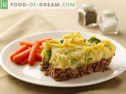 Casseruola con carne - le migliori ricette. Come cucinare bene e gustoso casseruola di carne.