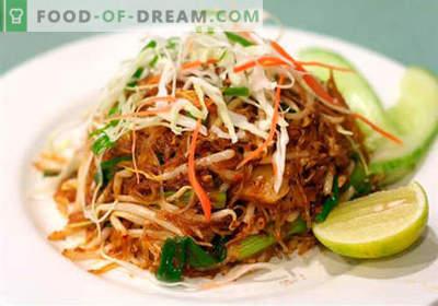 Insalate cinesi: una selezione delle migliori ricette. Come cucinare correttamente e gustose insalate cinesi.