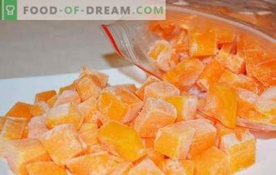 Congelamento della zucca a fette o sotto forma di purè di patate. Come congelare la zucca cruda, cotta e cosa prepararla