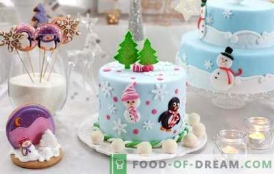 Non puoi fare a meno di una torta fatta in casa per il nuovo anno! Una selezione di dolci casalinghi rari e popolari per il nuovo anno: gustoso e facile
