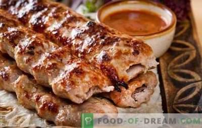 Kebab di agnello - una meravigliosa alternativa al kebab! Ricette di kebab di agnello alla brace, in padella e al forno