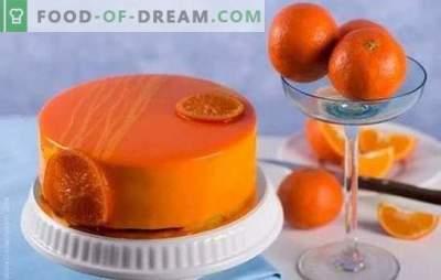 Cucinare con piacere: torta al cioccolato e arancia. Ricette torte all'arancia semplici e complesse con cioccolato e senza