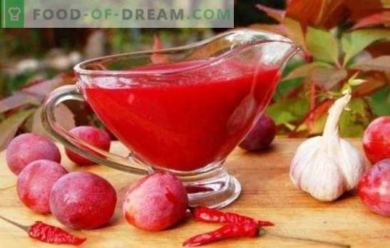Tkemali di prugne - una salsa profumata universale. Come cucinare tkemali da prugne: classico e originale