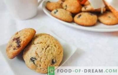 Biscotti all'uvetta d'avena - una classica cottura al forno, una tradizione di tè per famiglie. Come cucinare deliziosi biscotti all'uvetta di farina d'avena