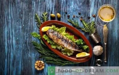 Ce condimente sunt necesare pentru pește și care nu sunt combinate cu acesta?