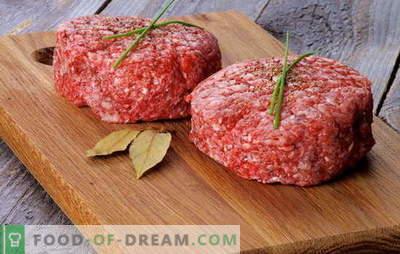 Cotolette senza pane - gustose e dietetiche! Segreti di cucinare polpette di carne senza pane fatto di carne e pesce, su una piastra e in forno: ricette per tutti i gusti