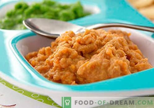 Purea di carne - le migliori ricette. Come cucinare correttamente e deliziosamente la purea di carne.