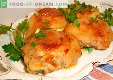 Pollo in una pentola a pressione - le migliori ricette. Come cucinare correttamente e gustoso pollo in una pentola a pressione.