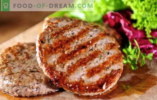 Polpettine di carne macinata succosa: ricette semplici e complesse. Come preparare polpette gustose e succose con carne macinata: manzo, maiale, pollo, pesce