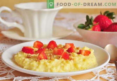 Porridge nel fornello lento - le migliori ricette. Come cucinare il porridge in una pentola a cottura lenta.