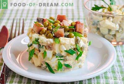 Insalata di sgombri - le migliori ricette. Come correttamente e gustoso per preparare un'insalata di sgombro.