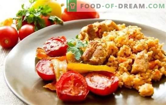 pilaf uzbeco con maiale - nutriente, profumato, saporito Segreti e successo di varie ricette del pilaf uzbeko con carne di maiale