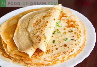 Pancakes con latte acido - ricette collaudate. Come cucinare correttamente e gustose frittelle con latte acido.
