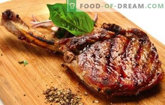 Carne di maiale con l'osso - ricette per la carne più deliziosa. Come cucinare il maiale con l'osso nel forno, nella pentola del vaso di terracotta e sul fornello
