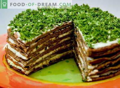 Torta al fegato - le migliori ricette. Come cucinare correttamente e cucinare la torta di fegato.