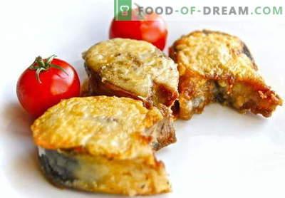 Gefrituurde makreel - de beste recepten. Hoe goed en smakelijk koken makreel gebraden.