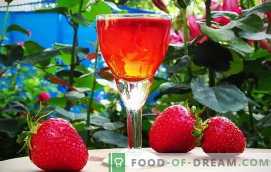 Cantina personale: tintura di fragole su vodka a casa. Segreti di cucinare la tintura di fragole su vodka