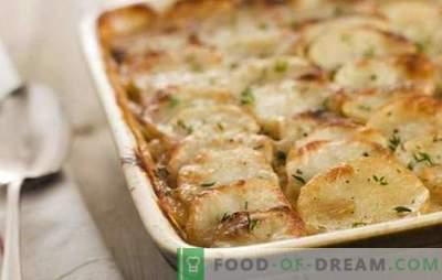 Patate con maionese al forno - non molto utili, ma incredibilmente semplici e gustose. Le migliori ricette per patate con maionese nel forno