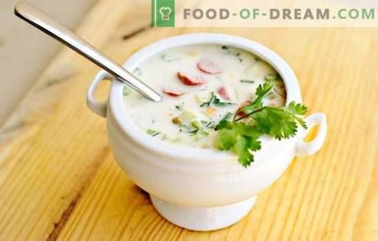 Okroshka classico su kefir - un'opportunità per rinfrescarsi in una giornata calda. Le migliori ricette okroshka classical kefir