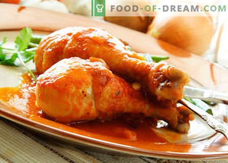 Pollo con miel - las mejores recetas. Cómo cocinar correctamente y sabroso pollo con miel