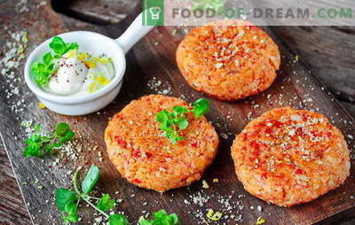 Miracolo dell'arte culinaria casalinga - le costolette di bastoncini di granchio. Cotolette di granchio a basso costo: incredibili ricette