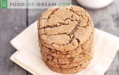 Biscotti di farina d'avena con miele - fragranti dolci fatti in casa. Una selezione delle migliori ricette per biscotti di farina d'avena con miele e l'aggiunta di altri ingredienti