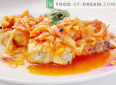 Kalad marinaadi all - parimad retseptid. Kuidas õigesti ja maitsev küpsetada kala marinaadi all.