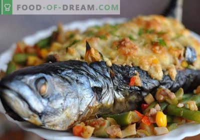 Sgombro con verdure - le migliori ricette. Come cucinare correttamente e gustoso sgombro con verdure.