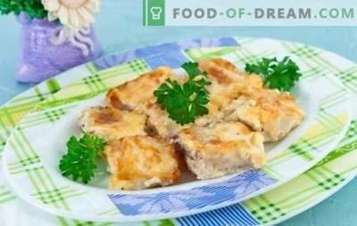 Il pesce in una frittata è una combinazione meravigliosa! Ricette per diversi pesci in una frittata al forno, nella padella e nel multicooker