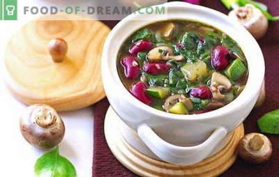 Minestre di quaresima - ricette per tutti i giorni. Come cucinare correttamente e gustose zuppe magre - ricette per tutti i giorni e in vacanza