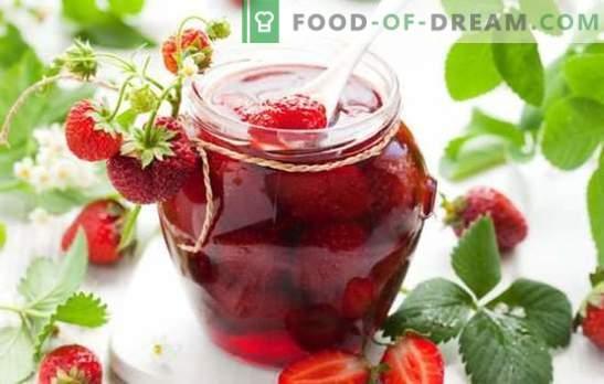 Marmellata di fragole con bacche intere - kra-so-ta! Sottigliezze e segreti di fragranti marmellate di fragole con bacche intere