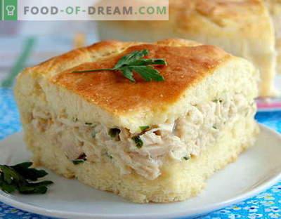 Chicken Pie - le migliori ricette. Come cucinare correttamente e gustoso una torta di pollo.